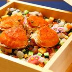 贅沢な越前ガニ料理を堪能できる「福井・三国」にある名店