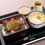 赤い宝石丼(みくに甘海老丼)