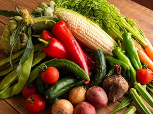 大阪の無農薬野菜や山梨県の農家直送の野菜にこだわる