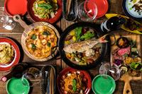 前菜盛り合わせにサラダ・フリット・パスタにメイン(塊肉のグリルなど)が付いたパーティー用のコースメニュー。2時間のフリードリンク付きでパーティーにおすすめ。ぜひご相談を。