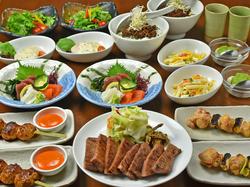 仙台名物の牛たんが食べられる! 焼助の人気料理が盛り沢山のコース