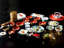 四季折々の味覚を贅沢にあしらった『おふるまい料理』