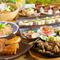 料理長のおすすめをふんだんに盛り込んだコスパ抜群コースです。お魚、お肉、デザートもついてこの値段♪
