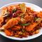 中国料理と韓国料理が融合した、激辛メニューが食せる
