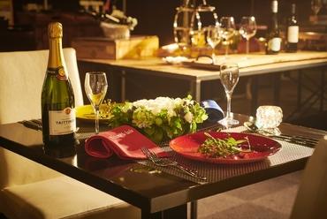 記念日に最適な空間と料理
