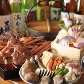 富山グルメを満喫。四季折々の名物料理でもてなす至福のひととき