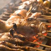 新鮮な魚介を備長炭で焼き上げる、贅沢な『炉端焼き』
