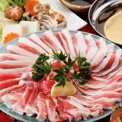 (+500円で3HOK!)野菜巻き串4本に加えて、ローストビーフなどの『肉の玉手箱』を満喫できます♪