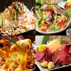 宮崎地鶏と九州野菜のせいろ蒸しや海の玉手箱=豪快海鮮ちらし寿司などを堪能できる贅沢なコースです!