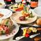 地産地消の野菜をはじめ、厳選された素材を使用