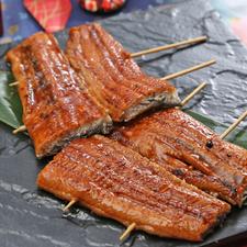 鰻の串焼き