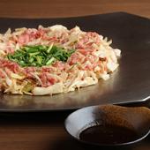 『炊き肉』を初めて味わう方におすすめ『炊き肉~カルビ・ロース・いか(1人前)』
