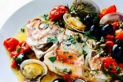 明石の海鮮や地元野菜を使ったシェフ自慢のコースです。旬にこだわった食材をイタリアンに仕上げます