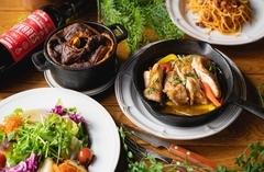 平日限定でお得なプランが登場です。 名物料理のスフレやローズマリーノチキンもお楽しみいただけます!