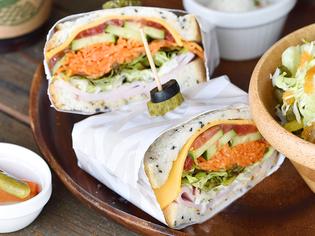 季節ごとに変化を味わえる『三浦野菜のサンドイッチ』
