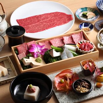 【にく匣】こいき(上肉)+肉寿司や肉刺し含む焼肉ディナー