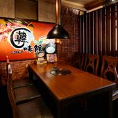 ゆったりと落ち着いた雰囲気の中で、本場韓国の味を満喫