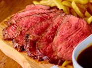 口中に肉汁溢れる『宮崎県産「このはな牛」サーロインステーキ 150g』