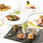 産地直送の鮮魚、長州鶏、季節野菜で彩るフレンチ&イタリアン