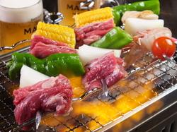 クーポンご利用で5500円→5000円! 夏の味覚を目一杯使った贅沢コース。 各種ご宴会にぴったり♪