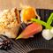 魚介類は新鮮そのもの。コース内の魚料理『甘鯛のうろこ パリパリ焼き』