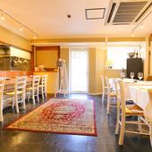 シチリアで修業したレストランのディテールを取り入れた内装