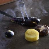 『お子様料理』コースもあり、ご家族皆様で鉄板焼を囲める!