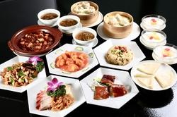 大海老のチリソース・陳麻婆豆腐全9品+1000円で2H飲み放題付