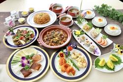 当店自慢の麻婆豆腐にチャーハンもついて大満足の10品コース!