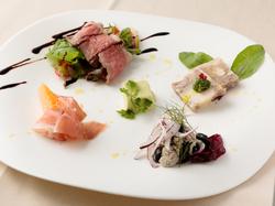 お魚料理とお肉料理、両方お楽しみいただけるプラン