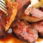 こだわりの調理法で味わう厳選お肉はまさに絶品
