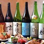 日本酒に精通しているマネージャーセレクトの日本酒