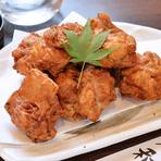ピリッとした辛さがお酒のおつまみに最適『鶏の唐揚げ』