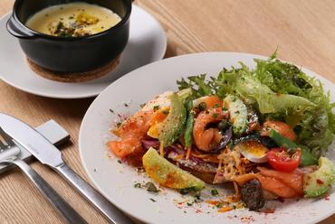 ◆本日のスープとタルティーヌのさらもじAランチ