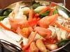 寒い季節に温まるには最適のトマト鍋! 〆のパスタを付けたお得なコース!