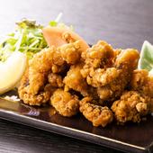サクッと揚げて、自家製甘ダレに漬け込む『鶏からチューリップ』