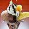 バナナが丸ごと1本楽しめる『チョコバナナパフェ』