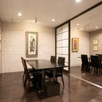 2階には2つの個室があり、一部屋では4~10名、二部屋つなげた場合は20名くらいまでで利用できます。ご家族の行事、会社の宴会、地域の集まりなどにおすすめです。