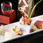 刺身の味わいは捌き方や見せ方によっても大きく違ってきます。瀬戸内の海の恵みを熟練の職人が丁寧に捌き、一番おいしい状態で提供してくれるお店です。