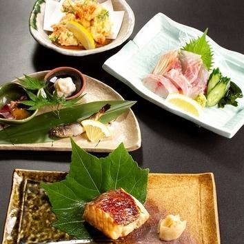 おまかせ3品+前菜