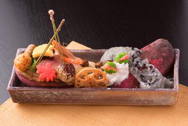 四季をあらわす日本食を五感で楽しめる『前菜』