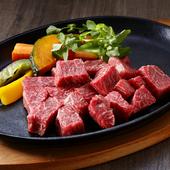 テラス席で味わえる上質なお肉