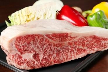 国産黒毛和牛ステーキ
