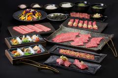 お気軽に松阪牛焼肉を楽しめる家族連れや宴会に最適なコースです。