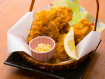 <4000円⇒3500円>『旨辛担担モツ鍋』or『たきにく』を選べるのお鍋のコースです。