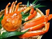 ボリューム満点で食べ応え抜群!※カニをご注文のテーブルにはしゃぶ鍋セットと焼き蟹セットをお持ちします。