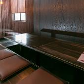 宴会に利用価値が大きい掘りごたつの座敷席
