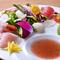 糸島の食材を存分に満喫できる『糸島の鮮魚で伊都カルパッチョ』
