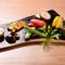 糸島の契約農家から直送で届く旬の野菜をふんだんに使用