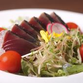 「魚バル」という店名の通り、魚の鮮度と質にも自信あり